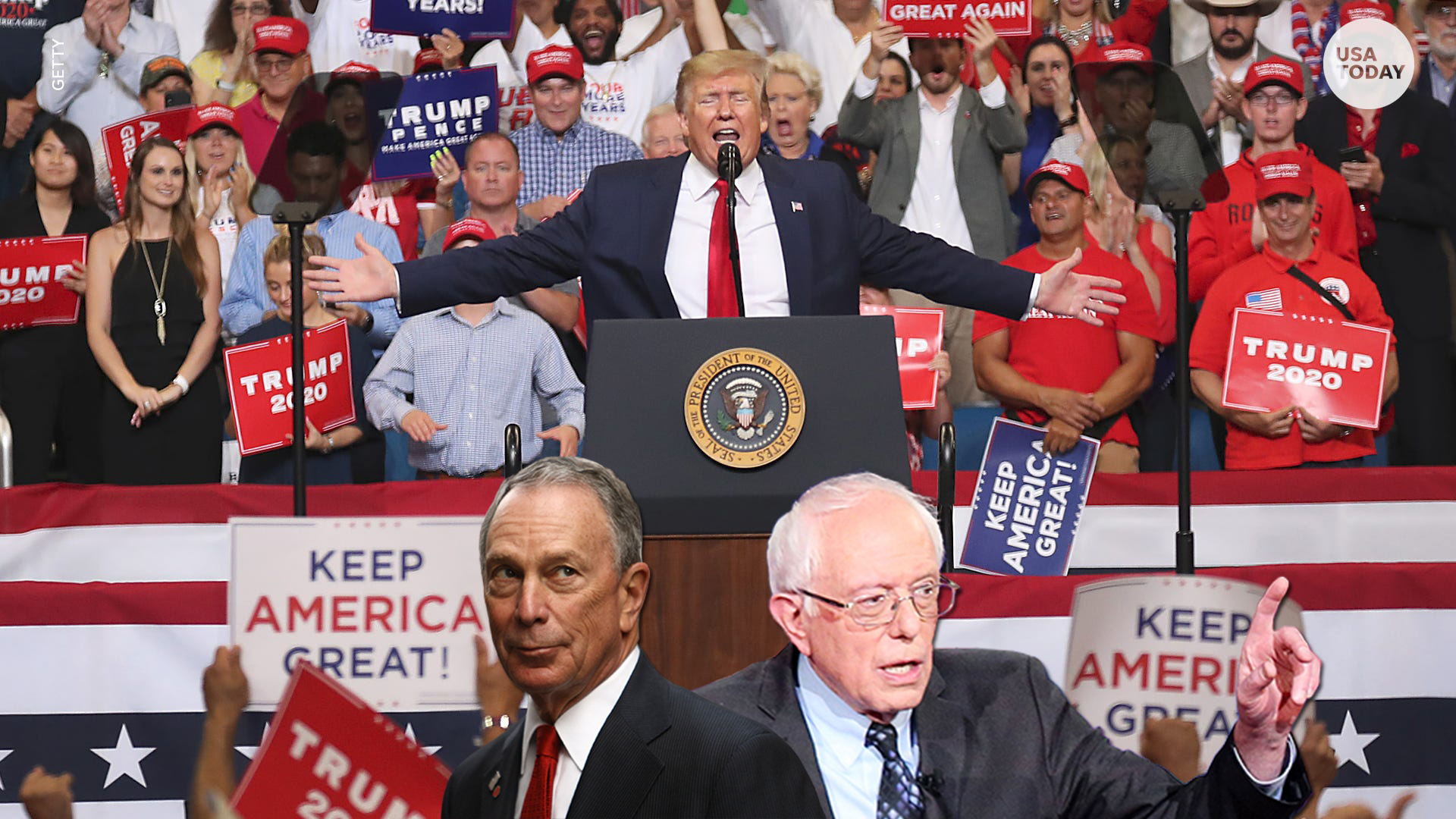 2020 Elections – Bloomberg's Out, but Waiting for Donald Trump – Bernie Sanders Still Standing