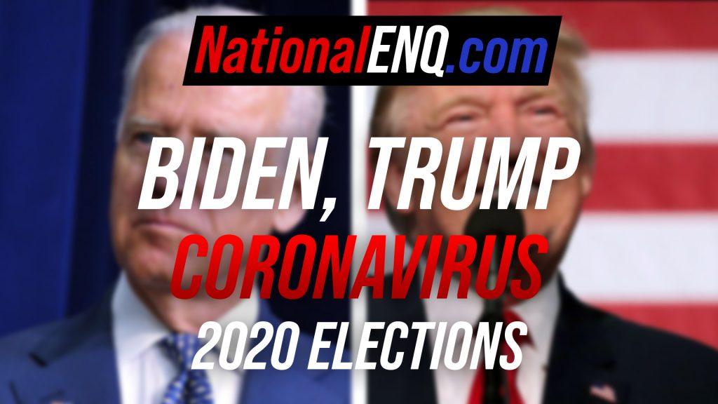 National ENQ NationalENQ.com Donald Trump Joe Biden Stimulus Package Coronavirus