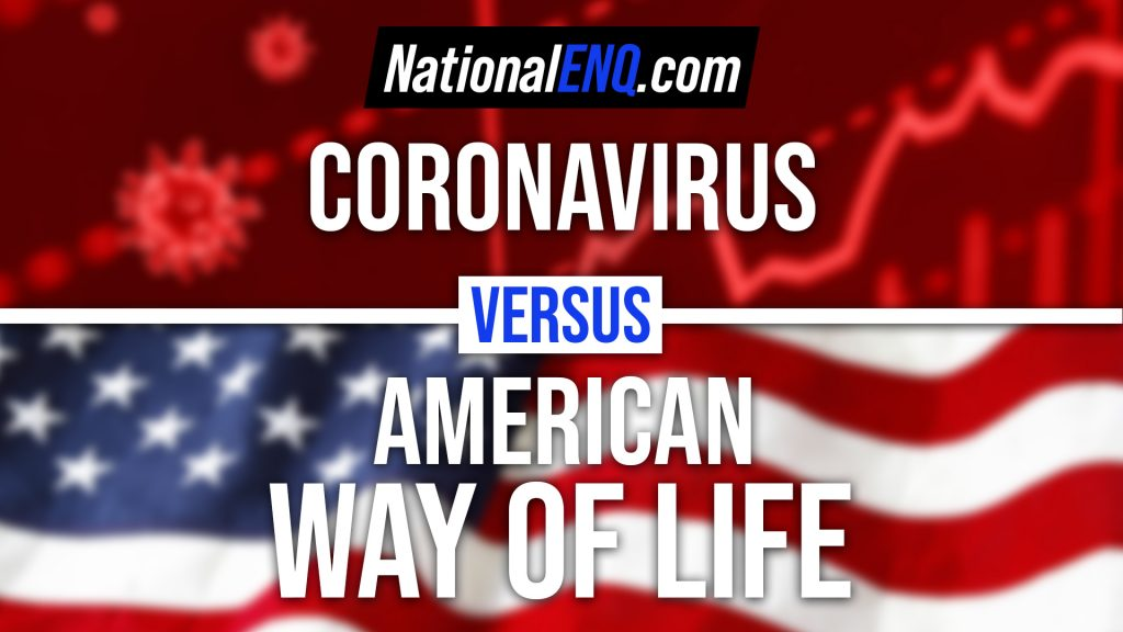 National ENQ NationalENQ.com US Lockdown Coronavirus 2 Trillion Stimulus Package