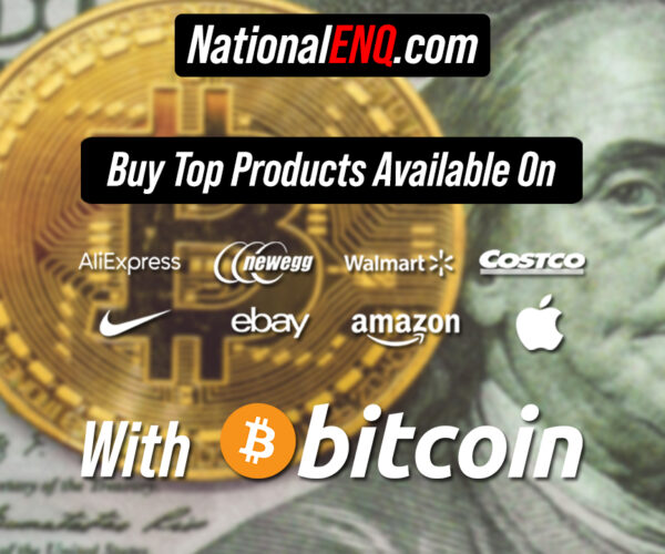 Latest News: Bitcoin (BTC) can Now Be Used to Shop Everywhere – Buy Products Available on Amazon, Walmart, Costco, Apple, Nike, eBay, AliExpress & More