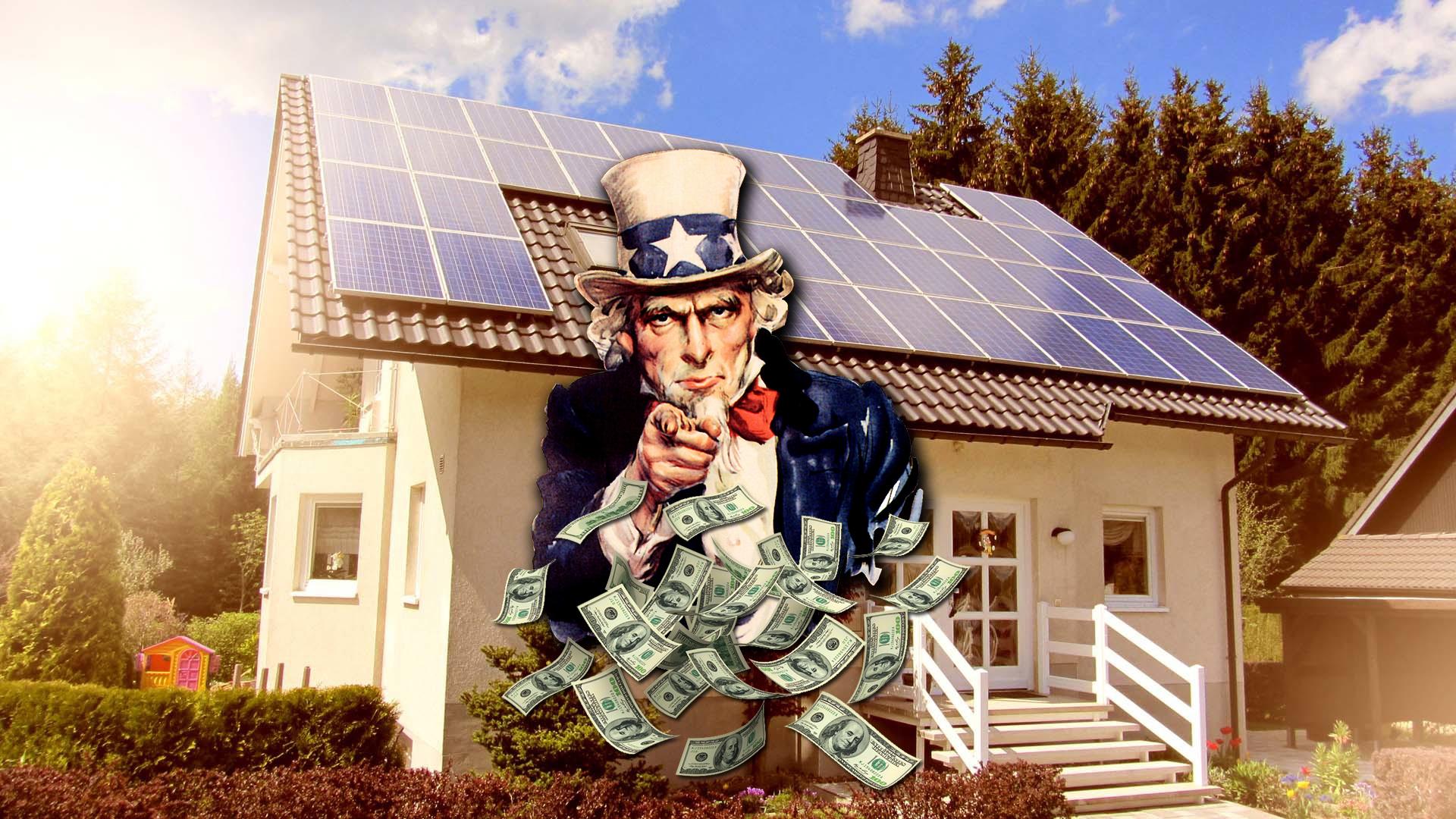 Solar panels 100% free – saving money or environmental protection?