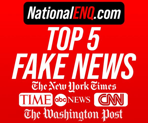 Top 5 Fake News Sources Confirmed By President Donald J. Trump: CNN, The Washington Post & More