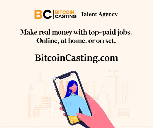 Bitcoin Casting – The Easy Way to Make Money Online as a Model, Actor, Influencer, Singer, Performer or Regular Person on BitcoinCasting.com